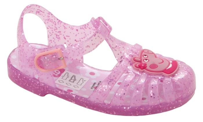 ea9f4609e931 Girls  Peppa Pig Summer Shoes