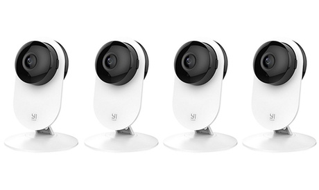 YI 1080p Home Camera 4 Pack, Indoor Wireless IP Security Surveillance System with iOS, Android App w/ Cloud Storage 0cb19174-810a-4f7b-aa14-b2a10eeaecb2