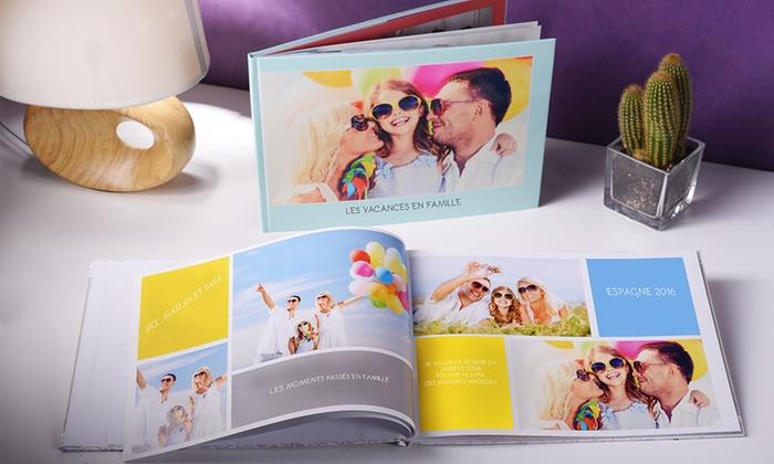 1 ou 2 livres photo A4 épais vertical de 100, 120 ou 140 pages avec Colorland dès 9,99 € (jusqu'à 88% de réduction)