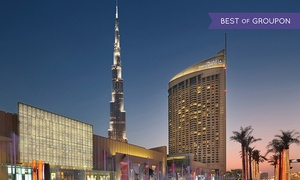 Na3Na3-The Address Dubai Mall: International Lunch or Dinner Buffet with unlimited Soft Drinks at Na3Na3, The Address Dubai Mall (Up to 46% Off)