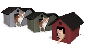 K&H Outdoor Heated Kitty Houses