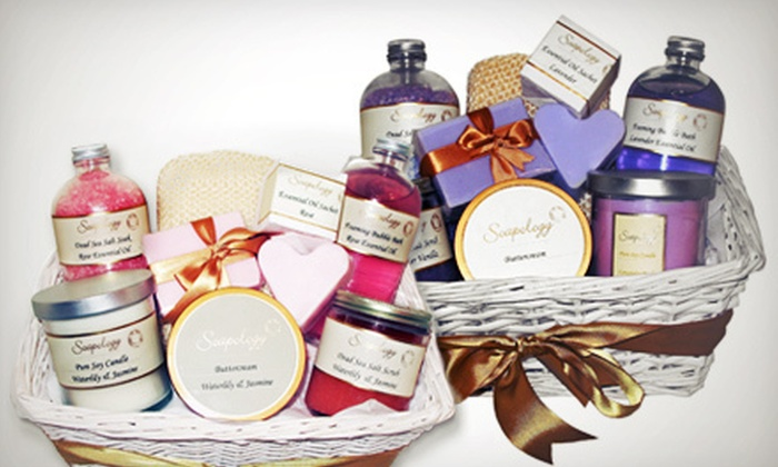 Soapology - West Village: Natural and Organic Bath Products at Soapology (Up to 64% Off). Three Options Available.