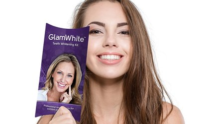 image for $12.99 for a Premium LED Home Teeth-Whitening Kit with Gel Refills for Life from Glam White ($175 Value)