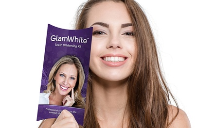 $12.99 for a Premium LED Home Teeth-Whitening Kit with Gel Refills for Life from Glam White ($175 Value)