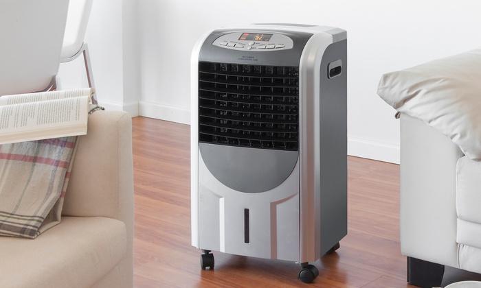 Groupon Goods Global GmbH: Climatizador de aire con aniones por 120 € (80% de descuento)