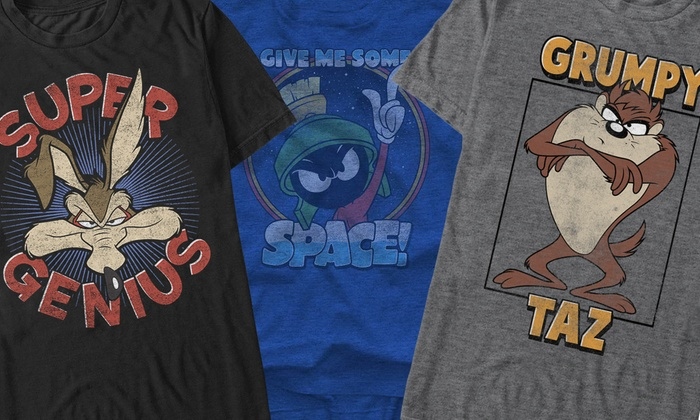 Looney Tunes Men's Humor Tees