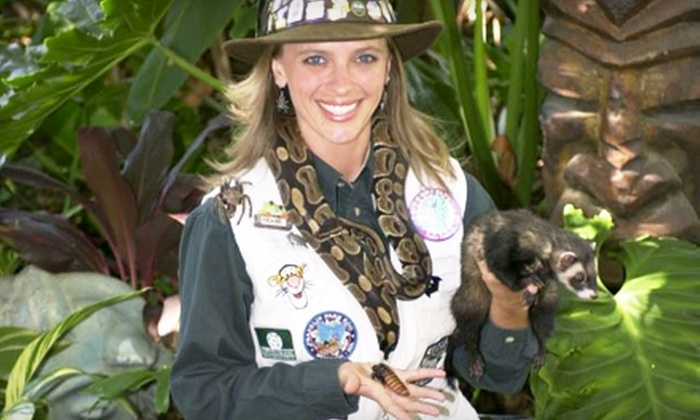Nonie's Ark Animal Encounters - Pensacola / Emerald Coast: $75 for a One-Hour Live-Animal Birthday Presentation for Up to 30 from Nonie's Ark Animal Encounters ($150 Value)