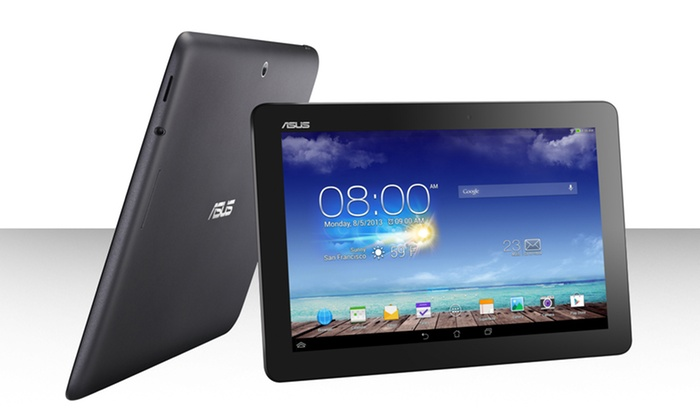 """ASUS MeMO Pad 10"""" 16GB Tablet: ASUS MeMO Pad 10 Tablet with 10 In. HD Display and 1.6GHz Quad-Core Processor (ME102A-A1-GR). FreeReturns."""