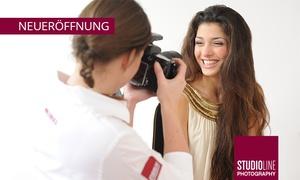 Studioline: 90 Min. Fotoshooting-Event inkl. Make-up und Bild als Datei und Abzug bei STUDIOLINE PHOTOGRAPHY (bis zu 87% sparen*)