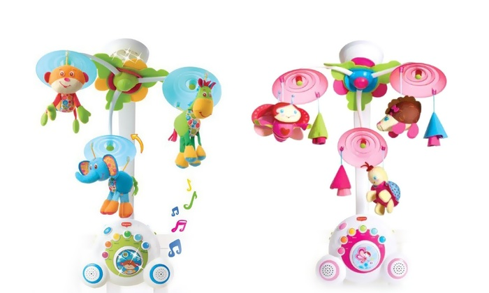 Groupon Goods Global GmbH: PreciousLittleOne Tiny Love Soothe and Groove Baby Mobile Toy