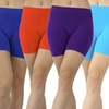 Women's Seamless Microfiber Workout Shorts (6-Pack)