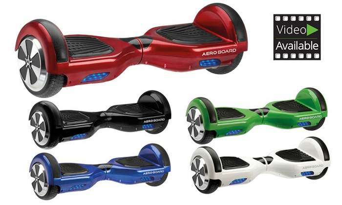 Groupon Goods Global GmbH: AeroBoard Certified Hoverboard in a Choice of Colour with Free Carry Bag for €269.99 With Free Delivery (54% Off)