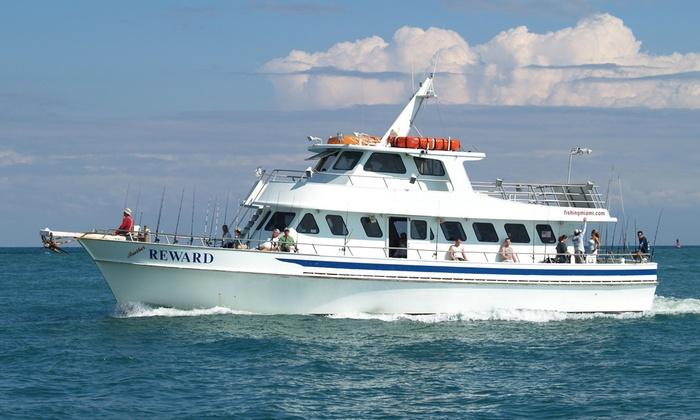 The reward fleet up to 33 off miami fl livingsocial for Reward fishing fleet