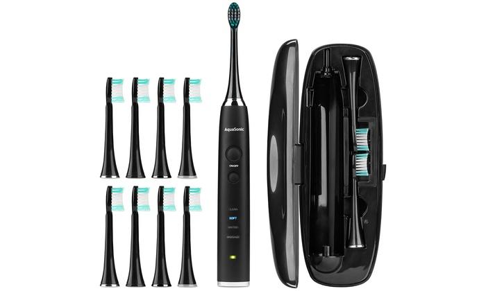 Up To 73% Off on AquaSonic Toothbrush | Groupon Goods
