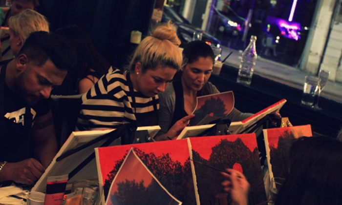 Artistique - London: Social Painting Experience for One or Two with Artistique Paint Club (Up to 34% Off)