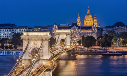 ✈ Budapest: 2 to 4 Nights at Choice of 4* Hotels with Return Flights*
