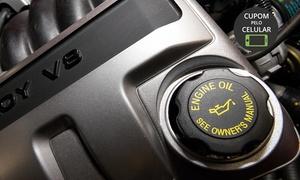 K2 Ar Condicionado Automotivo - 5 Unidades: K2 – 5 endereços: troca de óleo ou troca de pastilhas de freio + alinhamento, balanceamento, rodízio de pneus e mais