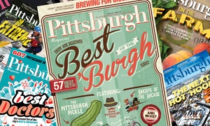 "Pittsburgh Magazine: One- or Two-Year Subscription with City Guide from ""Pittsburgh Magazine"" (Up to 44% Off)"