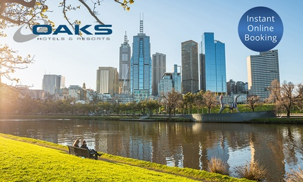 Melbourne: Up to 7 Night Stay for Two People at Oaks on Collins