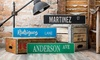 Up to 51% Off Personalized Aluminum Street Signs