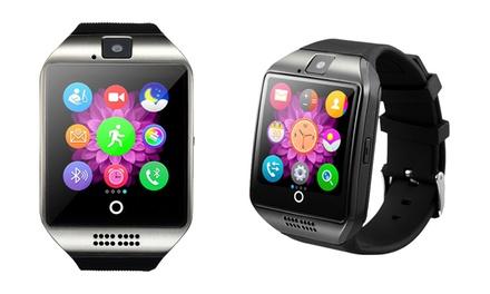 Q18 Smartwatch mit High-Capture-Display und Smartcam in Schwarz oder Weiß inkl. Versand (77% sparen*)