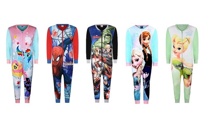 Combinaisons-pyjamas Disney/Marvel pour bébés et enfants, taille et modèle au choix à 11,99 € (52% de réduction)