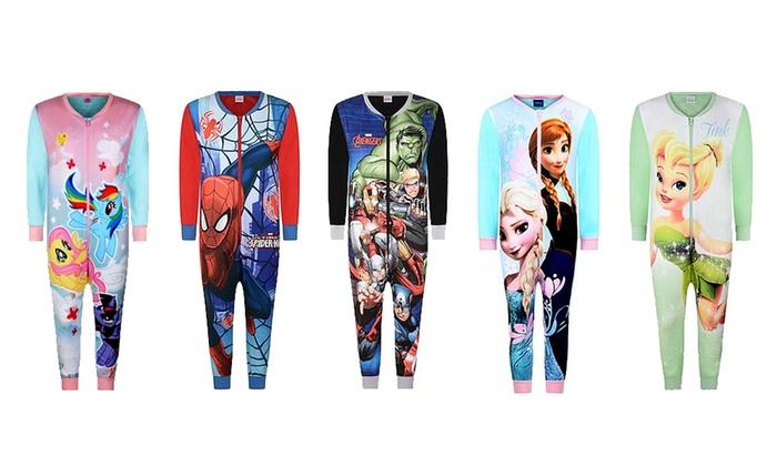 Combinaisonspyjamas Disney/Marvel pour bbs et enfants taille et modèle au choix à 1199 € (52% de rduction)