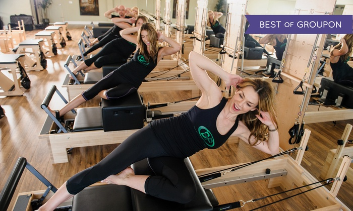 Beyond Pilates - Multiple Locations: 10 or 20 Pilates, Yoga, Barre, Zumba, or Spin Classes at Beyond Pilates (Up to 82% Off)