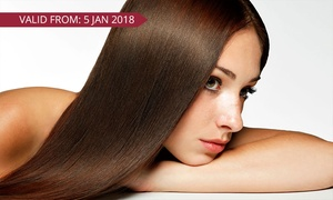 Emerse Hair & Beauty: Brazilian Keratin Treatment ($89), or $109 to Add Cut and Blow-Dry at Emerse Hair & Beauty (Up to $443 Value)