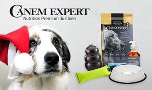 Mediaffiliation Point Communication: Bon d'achat de 20 € valable sur tout le site de Croquettes Canem Expert à 5 €