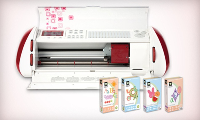 Provo Craft: Reconditioned Cricut Bundle or Cricut Cake-Mini Bundle from Provo Craft (Up to 53% Off)