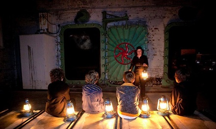 FamilyFriendly Ghost Tour: 1 Child $15, 1 Adult $19 or Family $65 with Q Station Ghost Tours Up to $125 Value