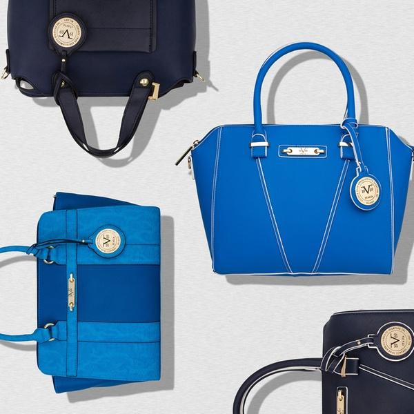 2ce49405 V1969 Italia 19.69 Abbigliamento Sportivo SRL Something Navy, Something  Blue Handbags by Versace