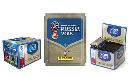 250 ou 500 stickers Panini collection officielle FIFA Coupe du Monde 2018