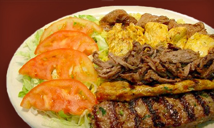 Kabob 2 - North Park: $10 for $20 Worth of Mediterranean Cuisine at Kabob 2