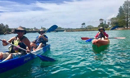 Two-Hour Nature Kayak Tour for Adult ($39) or Child (3-15 Years) ($25) with Go Sea Kayak Byron Bay (Up to $50 Value)