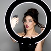 """Dimmable 19"""" LED Ring Light"""