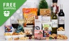 Free Shipping: Hamper with Wine