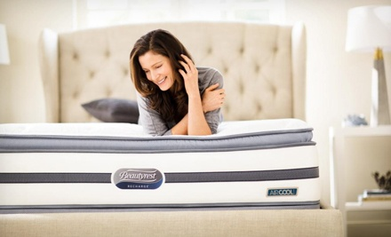 Twin-, Full-, Queen-, or King-Size Mattresses and Mattress Sets with Delivery at Simmons (Up to 60% Off)