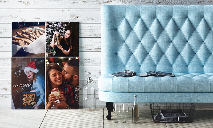 Canvas Prints with Custom Text from CanvasOnSale (Up to 86% Off). Five Options Available.