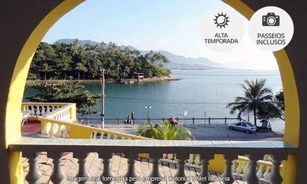 Colonial Hotel Ilhabela/SP: 2, 3 ou 5 noites para 2 + café da manhã (opções com mergulho e em feriados)