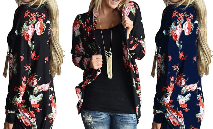 Floral Print Cardigan for €12