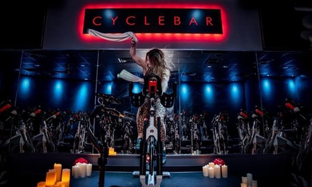 5 or 10 Premium Indoor Cycling Classes at CycleBar (Up to 51% Off)