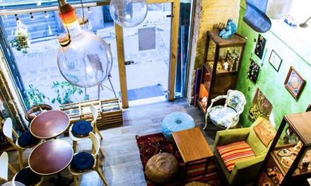 tea time avec une th i re pour 2 6 la mezzanine groupon. Black Bedroom Furniture Sets. Home Design Ideas