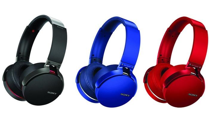 Sony XB950B1 Extra Bass Over-Ear Wireless Bluetooth