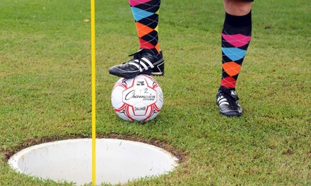 Choice of Footgolf or Disc Golf with Refreshments for Up to Four at Gaudet Luce Golf & Leisure Complex