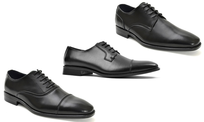 Joseph Abboud Men's Classic Leather Dress Shoes