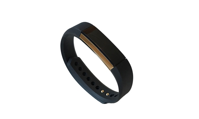 Large Fitbit Alta Special Edition Black-Gold Activity Tracker: Large Fitbit Alta Special Edition Black-Gold Activity Tracker