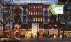 Hotel California - Berlín: Berlin: Standard-Doppelzimmer für 2 mit Spa und Rabatt auf Eisspezialitäten, opt. mit Frühstück, im 4* Hotel California