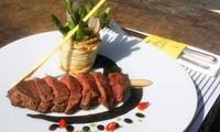 2 ou 4 menus entrée, plat et dessert valable pour 2 ou 4 convives dès 32 € au restaurant du Novotel Nantes Carquefou****